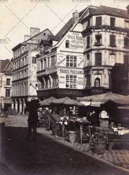 Rouen, place de la Basse Nouvelle Tour