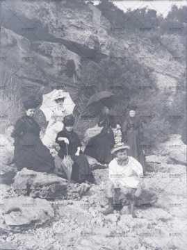 Portrait de femmes à la Belle époque