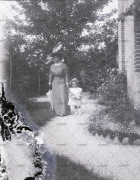 Portrait d'une mère et sa fiille