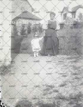 Portrait d'une femme et de sa fille