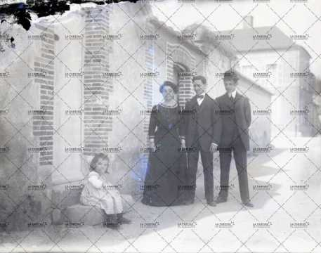Portrait d'une famille en 1905