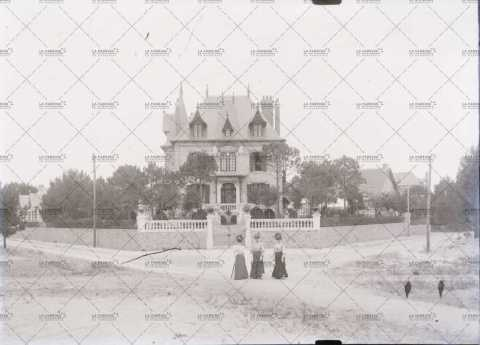 Villa balnéaire en 1910