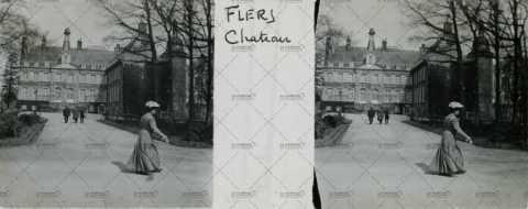 Château de Flers à la Belle époque