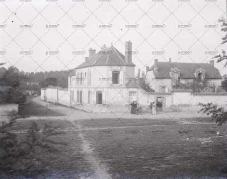 Propriété normande en 1910
