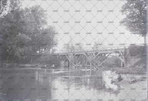 Pont en  bois normand