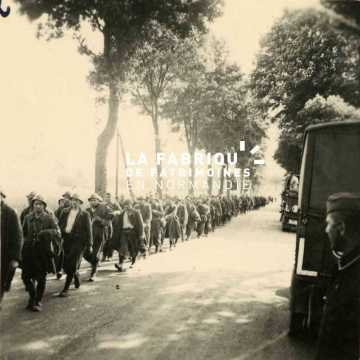 Prisonniers français lors de la campagne de France