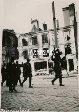 Prisonnier allemand au Havre