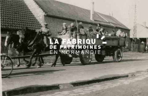 Exode en Normandie