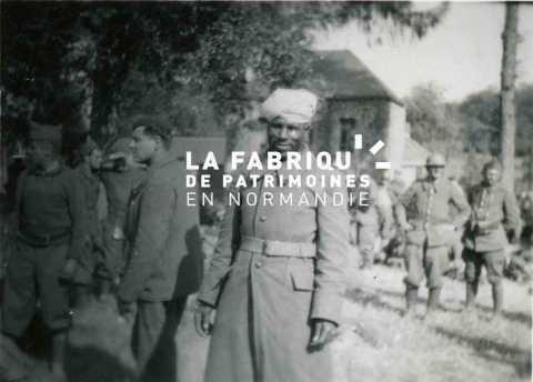 Prisonniers français et coloniaux à Fraimbault