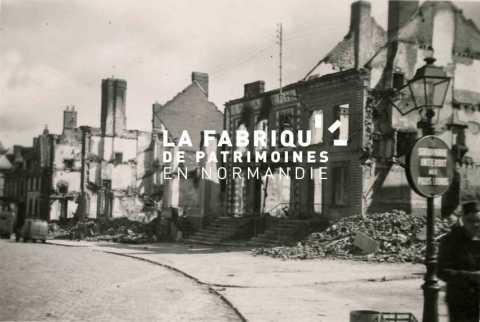 1944, Gacé en ruines