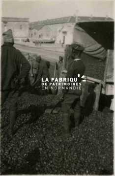 Prisonniers indigènes à Cherbourg
