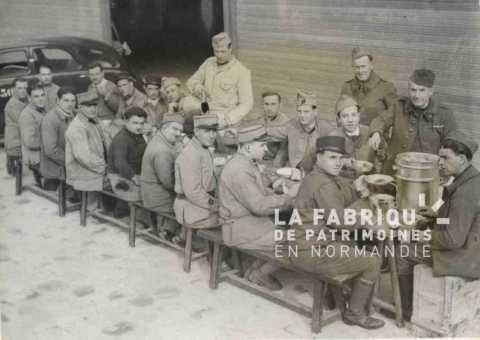 Repas, armée britannique et française