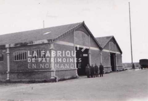 Caen en 1943