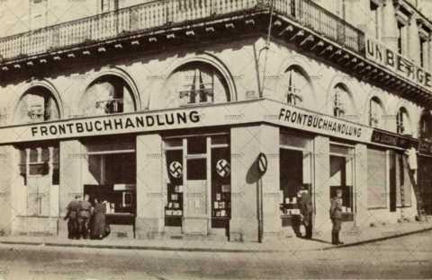 Librairie allemande (Frontbuchhandlung) à Caen