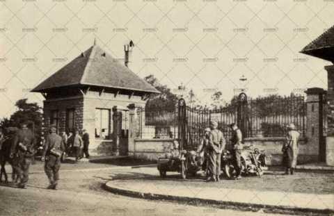 Colombelles, postes de gardes de la Société métallurgique de Normandie