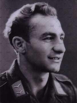 Portrait d'un jeune soldat allemand (Luftwaffe)