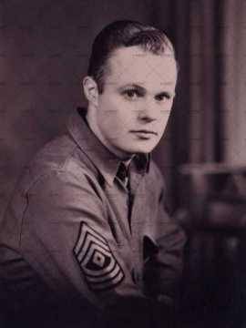 Portrait d'un sous-officier américain
