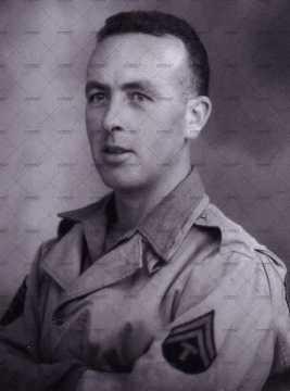 Portrait d'un caporal (?) américain