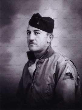 Portrait d'un officier américain