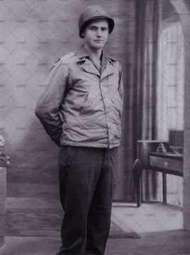 Portrait d'un jeune soldat américain
