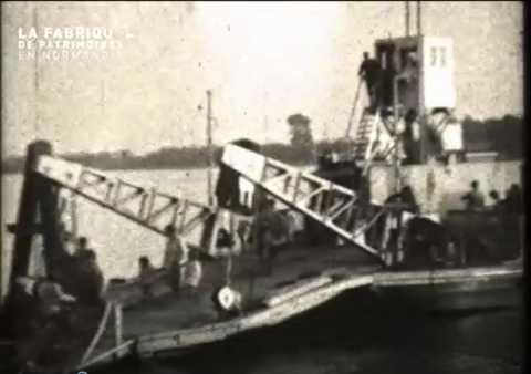 1930, bac de Caudebec