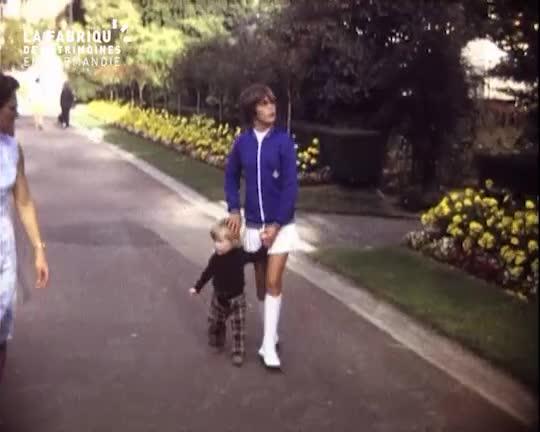 1971, jardin des plantes