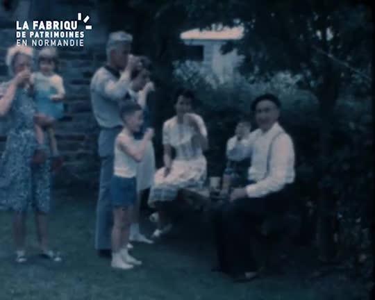 1965, en famille à la Bellière