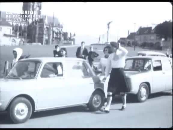 Foire exposition à Argentan en 1965