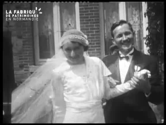 Mariage dans les années trente