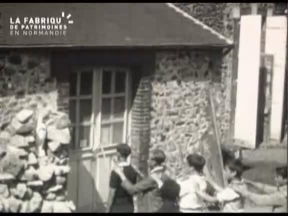 1932, foire à Gouville-sur-Mer.