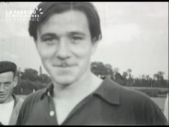1946, match de football à Vire