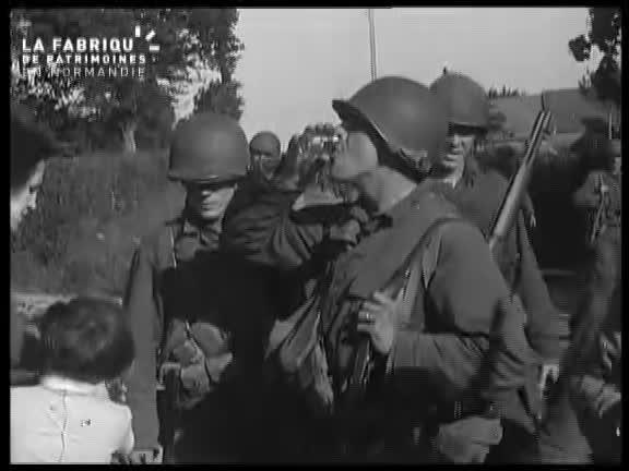 Juin 1944, la progression des Alliés en Normandie