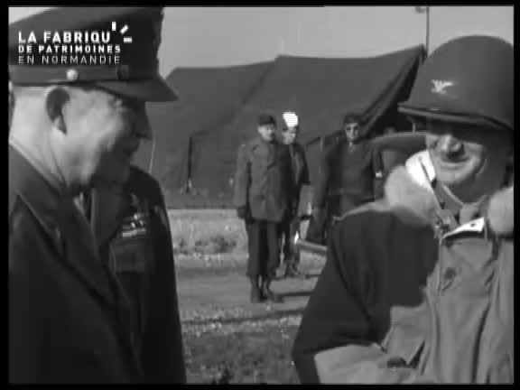 Juin 1944, Eisenhower à Cherbourg