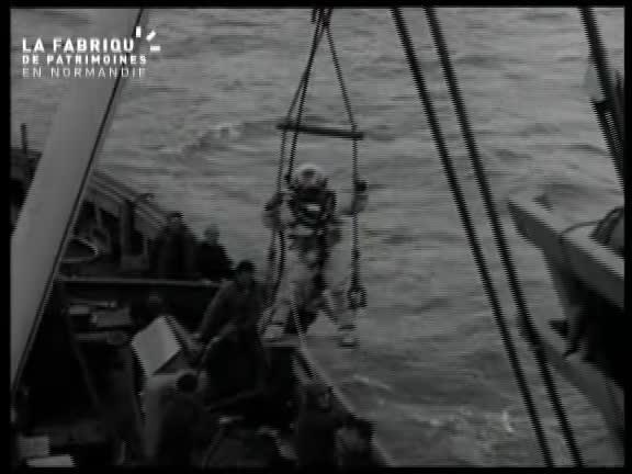 Juin 1944, ruines de Cherbourg