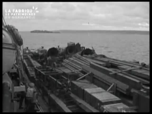 Juin 1944, port de Cherbourg
