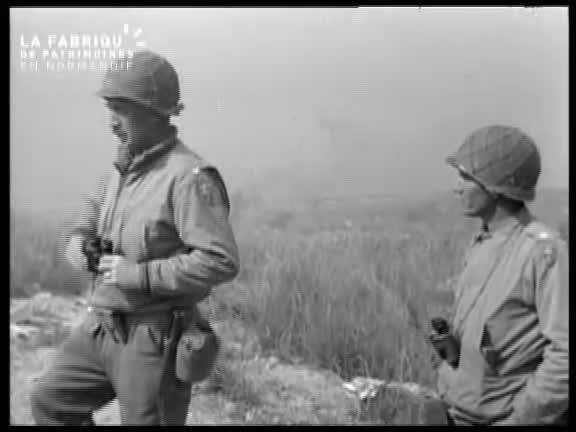1944, soldats américains