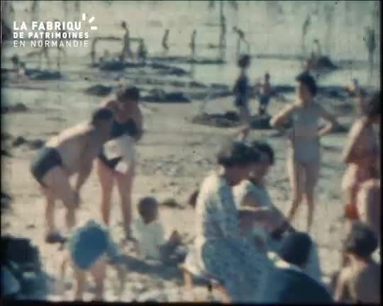 1959, vacances en Normandie