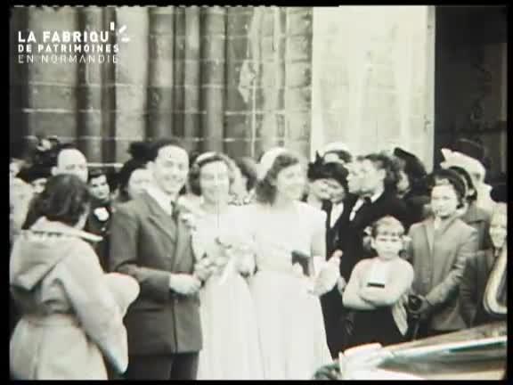 1951, mariage à Caen