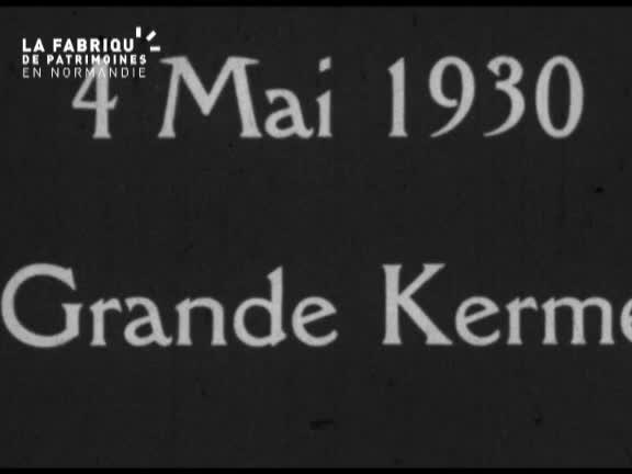 Pont d'Ouilly dans les années trente